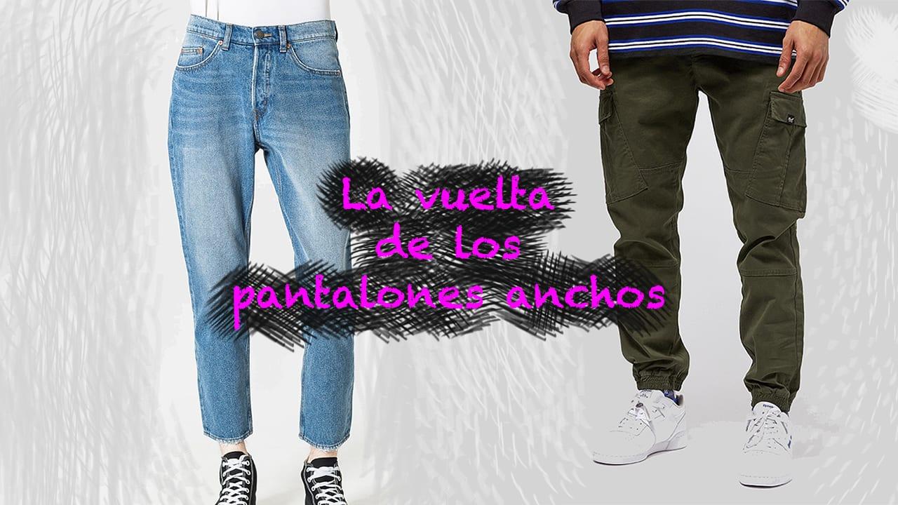 La Vuelta De Los Pantalones Anchos Para Hombre Blog Moda Masculina