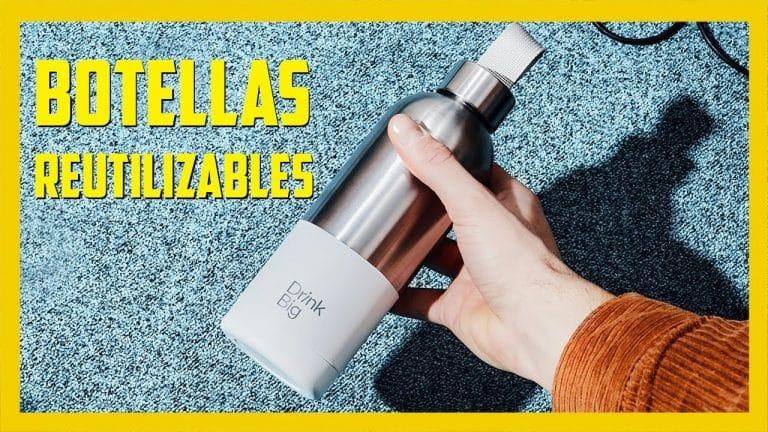 Botellas de agua reutilizables DRINK BIG