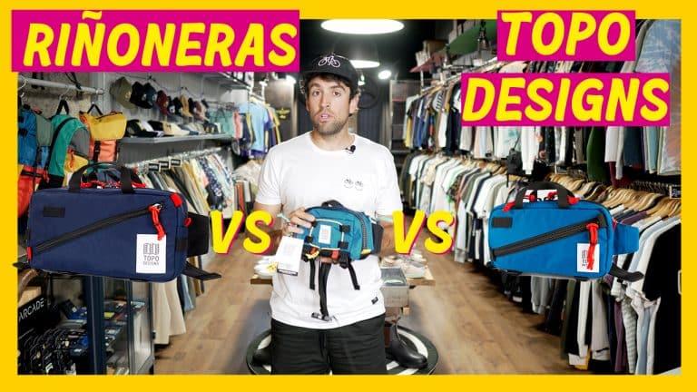 Comparativa de riñoneras Topo Designs